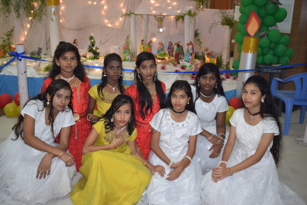 Guhan Matriculation Higher secondary school madurai christmas