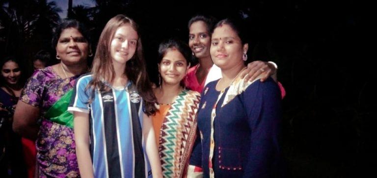 Mariana youth exchange Guhan school