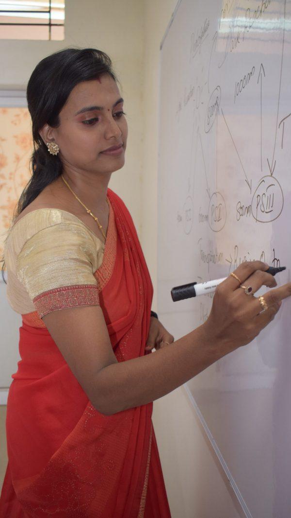 Guhan schools teacher writing